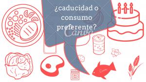 caducidad o consumo preferente